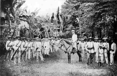 Gregorio del Pilar and his troops in 1898