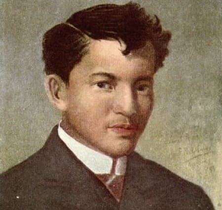 Jose Rizal oil painting