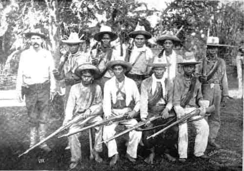 Macabebe Scouts in 1900