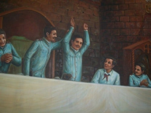 Mariano Trias winning as Vice President during the Tejeros Convention