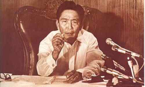 ferdinand marcos martial law declaration
