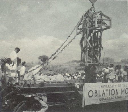 Transfer of the Oblation from UP Manila to UP Diliman