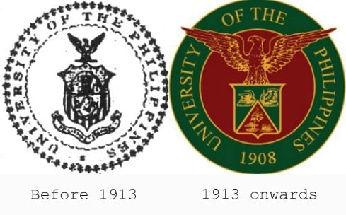University of the Philippines logo history
