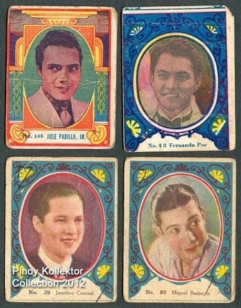1930s Philippines teks cards