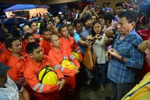 Mayor Duterte Typhoon Yolanda