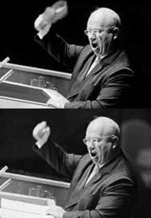 Shoe Banging Incident Nikita Khrushchev