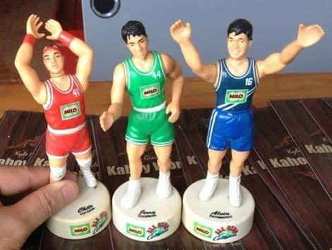 Vintage Milo basketball themed sharpeners