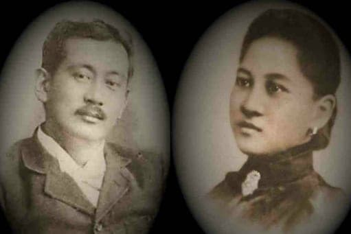 Don Mariano Ledesma Lacson and Doña Maria Braga