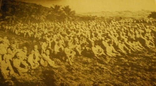 Japanese soldiers who surrendered to Cebuano guerrillas