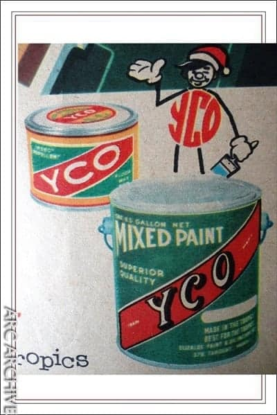 YCO Paints and Floor Wax