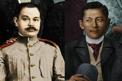 Antonio Luna and Jose Rizal