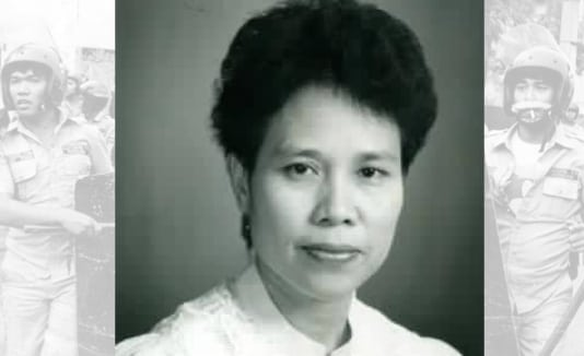 Miriam Defensor-Santiago as a trial judge 1985