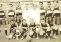 Philippine Basketball Team in Far Eastern Games