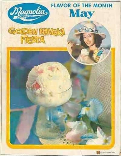 Magnolia Golden Nangka Fiesta Ice Cream Flavor of the Month