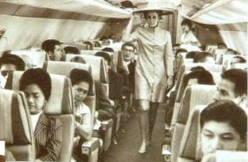 Philippine Airlines in-flight fashion show
