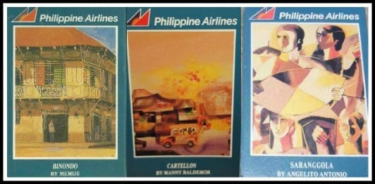 Philippine Airlines vintage playing cards