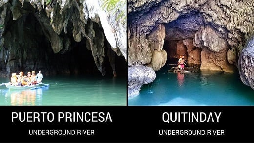 Puerto Princesa Underground River and Quitinday Underground River