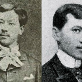 Pedro Paterno and Jose Rizal