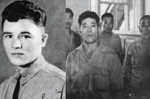 Glenn McDole and Japanese soldiers involved in the Palawan massacre