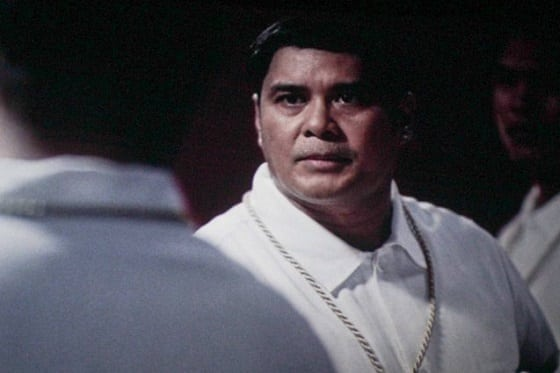 John Arcilla as Mariano Trias in the movie El Presidente
