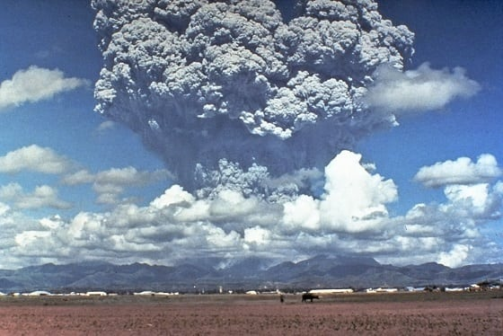 Mt. Pinatubo eruption of 1991