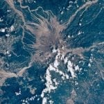 Mt.Pinatubo's Eruption Aftermath, As Seen From Space