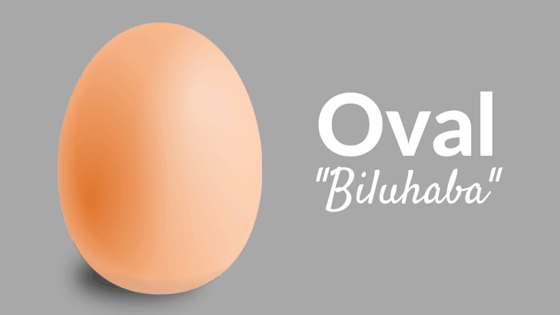 Oval in Filipino