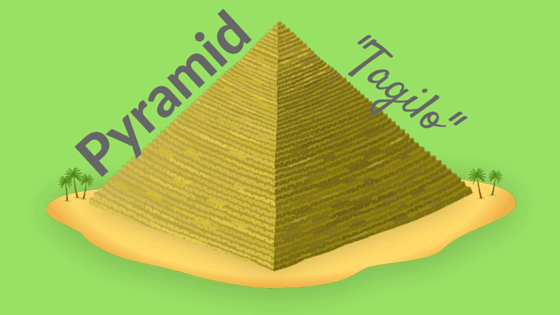 Pyramid in Filipino