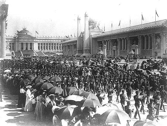 Philippine Constabulary Band at the 1904 St. Louis World's Fair