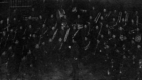 Walter Loving and the Philippine Constabulary Band in 1936