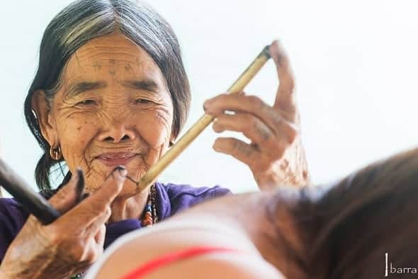 Whang-od oldest tattoo artist in the Philippines