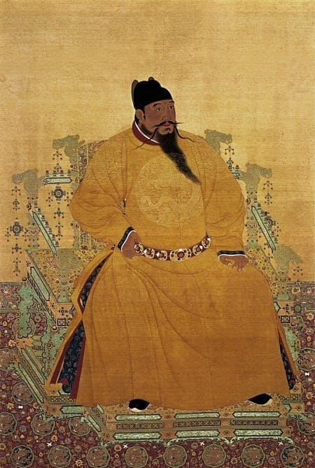Yongle Emperor of Ming Dynasty