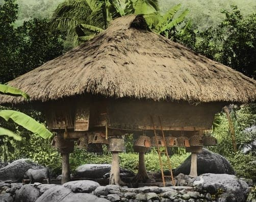Ifugao houses are designed to prevent small animals from entering