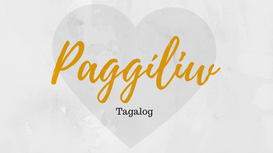Love in Filipino language