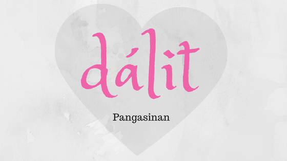 Love in Pangasinan language
