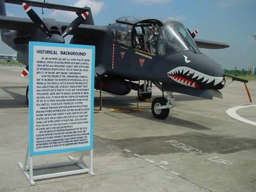 North American Rockwell OV-10A Bronco a twin-turboprop aircraft