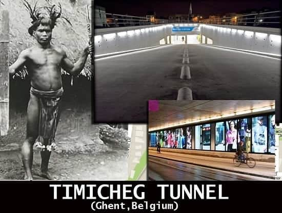 Timicheg Tunnel in Ghent, Belgium