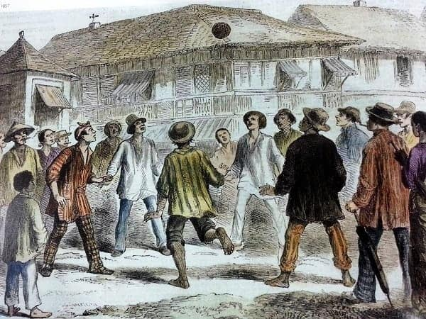 Football in 19th century Philippines
